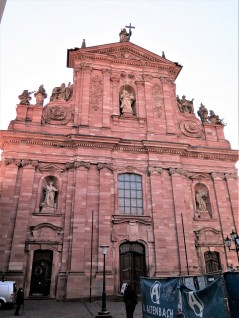 Jesuit Church (Jesuitenkirche), built between 1712 and 1723.