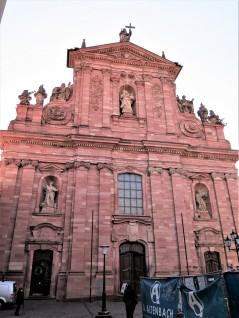 Jesuit Church (Jesuitenkirche), built between 1712 and 1723.