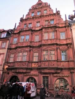 Hotel Zum Ritter St Georg, built in 1592