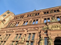 A fire in 1764 reduced the Ottheinrich Building to its facade. Only the rooms on the ground and first levels remain today, and are now part of the German Pharmacy Museum (Deutsches Apotheken-Museum)
