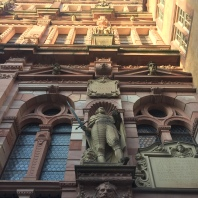 The details on the facade are amazing. An ancestral portrait gallery in stone.