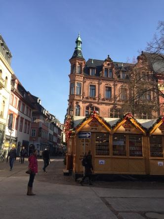 Christmas market on Universitätsplatz