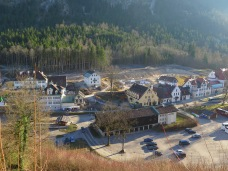 Hohenschwangau is a very small village.