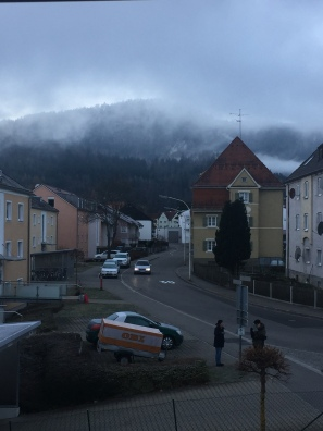 You can hardly see Neuschwanstein Castle.